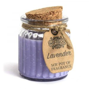 Soy Wax Candle Pot Lavender