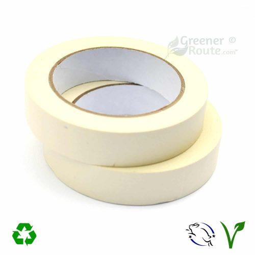 2Rolls of 25mmx50m white masking tapes