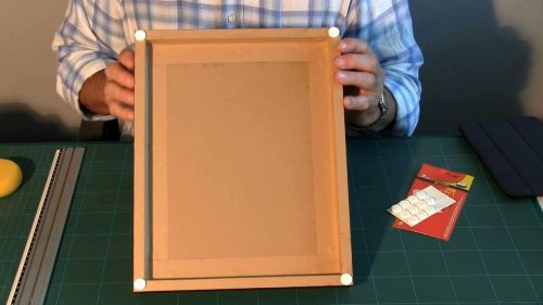 Picture framing tapes