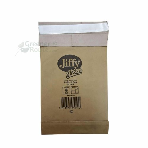 Jiffy Green padded Bag size 0